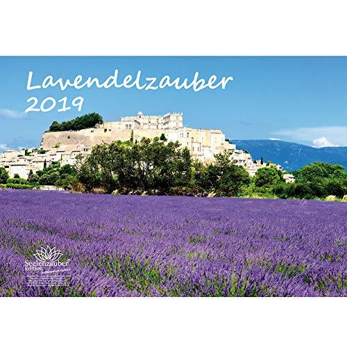Honig-weihrauch (Lavendelzauber · DIN A3 · Premium Kalender 2019 · Familie · Freizeit · Lavendel · Duft · Provence · Heilmittel · Pflanze · Edition Seelenzauber)