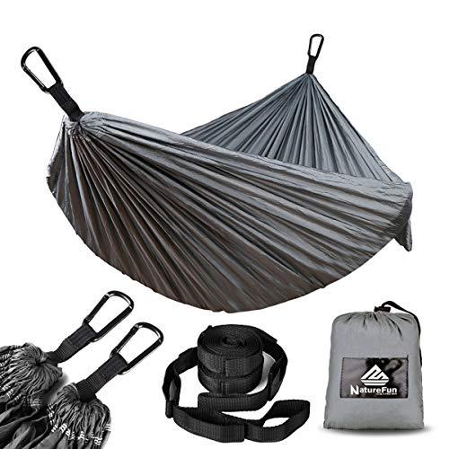 NATUREFUN Hamaca Ultraligera para Camping| 300kg de...