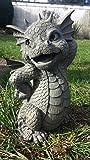 Figure de jardin Dragon 'Pretty' décoration