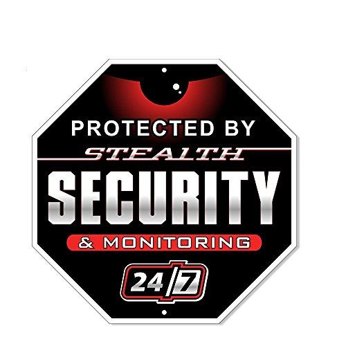 Schilder Authority 24Stunde Sicherheit Alarm Yard Zeichen,
