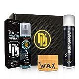 Da'Dude Ultimate Hair Styling Gift Bundle for Men - Da'Wax + Da'Salt Water Spray + Da'Hair Spray