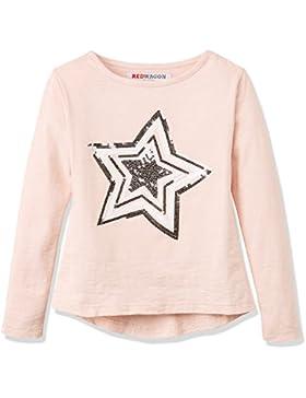 RED WAGON Camiseta con Estrella de Lentejuelas Para Niñas