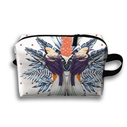 Pretty Birds Stylish Large Storage Bag Portable Home Makeup Bag Travel Bag Cosmetic ()