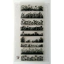 Pin del vintage encima de Maquillaje y ba?arse // Sellos di Silicona Clear Stamps large sheet 18x24cm FLONZ