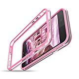CE-LINK Coque iPhone 7 Coque iPhone 8 Bumper, Antichocs Souple [Bords de Protection...