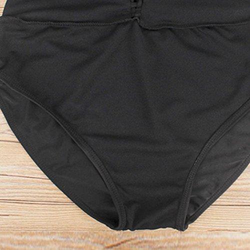 Costumi Da Bagno Donna OHQ Bikini Da Bagno Donna Fascia Da Bagno Costume Da Bagno Imbottito Push-Up Imbottito Con Reggiseno Costume Da Bagno Sexy E Affascinante Nero