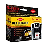 Keurig Cleaning Cups, Stain Remover, Biodegradable, Non Toxic, Coffee Stain off, 6 Cleaning k-cups