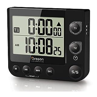 Oregon Scientific TW331 Küchen Timer mit Uhr und LED Alarm (Schwarz) (B00CLBYGME)   Amazon Products