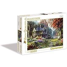 Clementoni - Puzzle 1000 piezas victorian garden (39172)