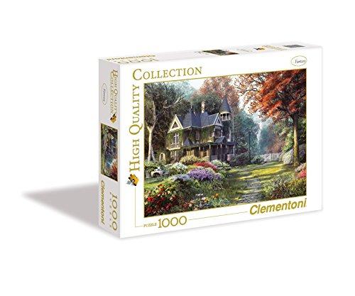 Clementoni- Victorian Garden High Quality Collection Puzzle, 1000 Pezzi, 39172
