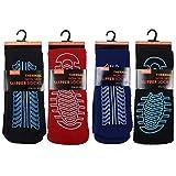 Best Slipper Socks - 4 Pairs Mens Non Skid Slip Slipper Socks Review