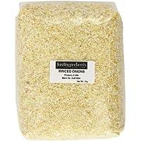 JustIngredients Essential Minced Onion Cebolla Picada - pack de 2 x 1000 gr (Total 2 kg)