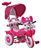 #3: Amardeep Baby Tricycle with Parental Control, Pink