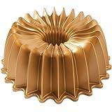 Nordic Ware 85777 Brilliance Bundt Pan, One Size, Gold