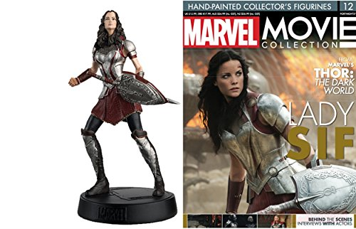 COLLEZIONI Marvel Movie Collection 3D Lady Sif Resin Figure Eaglemoss +fas