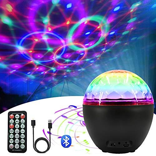 1pc Auto führte Sprachsteuerung USB-Atmosphärenlicht Discokugel RGB-Farbe
