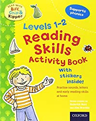 Oxford Reading Tree Read With Biff, Chip, and Kipper: Levels 1 to 2: Reading Skills Activity Book