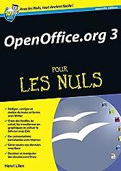 OpenOffice.org 3.X Mégapoche Pour les nuls