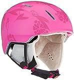 ALPINA Carat Xt casco da sci per bambini, Bambini, 9080353, Pink/Flower Matt, 54-58 cm