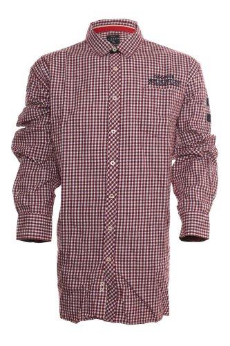 Edles Hemd von Kitaro Rot