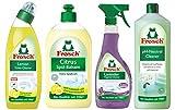 #5: Combo Family Monthly Pack ( Lemon Toilet Bowl Cleaner-750ml, Citrus Dish Wash-500ml, Lavender Sanitizing spray-500ml & pH neutral cleaner-1000ml)