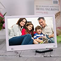 """Honorall 11.6"""" HD IPS Widescreen Digital Picture Frame Digital Photo Album 1920 * 1080 High Resolution with Full Featured Wireless Remote Motion Detection Support Music Video Playing Clock Calendar"""