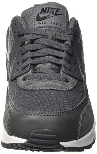 Nike Air Max 90 Essential, Scarpe da Ginnastica Uomo Grigio (Dark Gre/dark Grey-black-white)