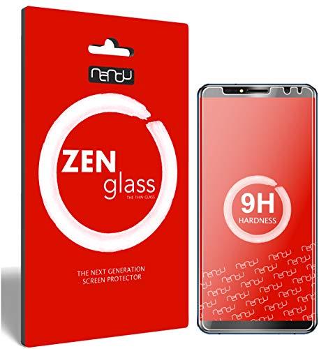 ZenGlass (2 Stück Flexible Glas-Folie für Oukitel K6 Panzerfolie I Bildschirm-Schutzfolie 9H I (Kleiner Als Das Gewölbte Bildschirm)