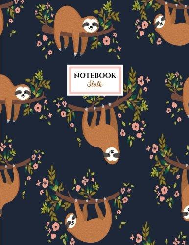 Preisvergleich Produktbild Sloth Notebook: Sloths Notebook (Composition Book Journal) (8.5 x 11 Large)