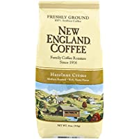 New England Coffee Hazelnut Creme, 11 Ounce by New England Coffee