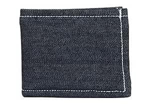 CLUB TWENTY ONE Unisex Fabric Wallet (Denim Blue)