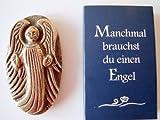 Schutzengel - Handschmeichler Segnender Engel, Bronze, 5cm