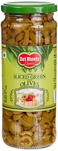 Delmonte Green Sliced Olives, 450g