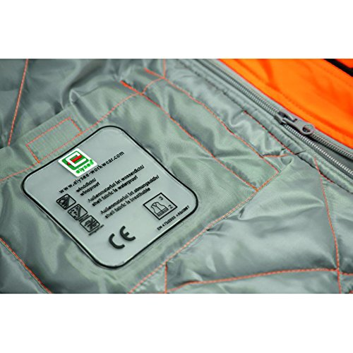 Giacca Soft Shell 2-in-1 Per Tutto Lanno 471 Class 3 Warning Orange Nero Giallo