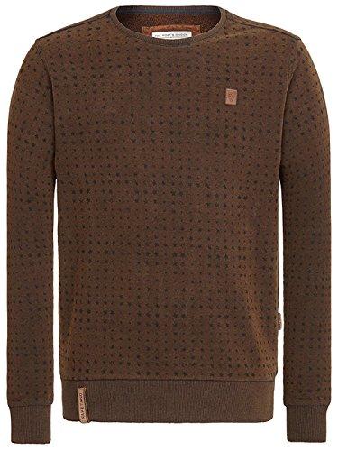 Naketano Male Sweatshirt Tinte aufm Füller Heritage Black