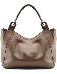 Oh My Bag–Bolso de piel mujer bolso de mano, hombro y bandolera modelo Paris Nouvelle Collection