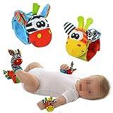 PRIMI 1pc niedliche Baby Handgelenk Rassel Foot Finder Spielzeug (Handgelenk-Rasseln)
