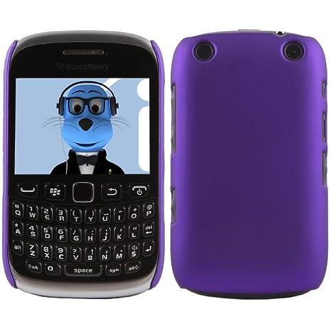 iTALKonline BlackBerry 9315 Curve PORPORA Difficile Saluto dura della cassa della pelle Soft Grip Slim