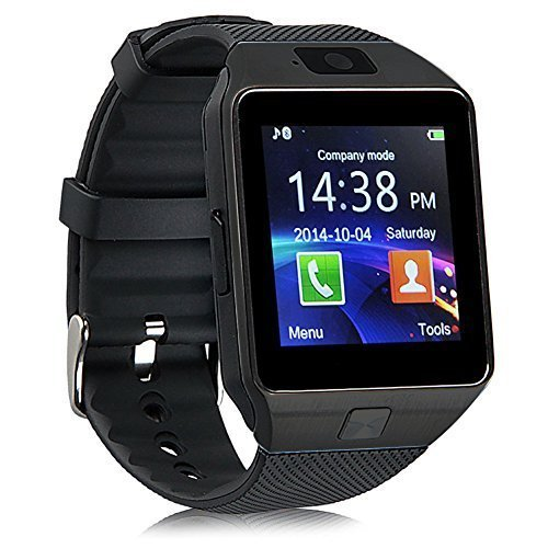 GIGABYTE BARBIE Compatible Smart Watch For Men 4g Phones Compatibility Original Smartwatch Wristwatch Mobile with Camera & SIM Card Support New Arrival Best Selling Premium Quality Lowest Price Apps like Facebook Whatsapp Twitter Functions Time Schedule Read Message News Sports Health Pedometer Sedentary Remind Sleep Monitoring Better Display Loudspeaker Microphone TouchScreen Multi-Language Micro SD Memory Card Supports All Android and Apple IOs iPhone Smartphone by CASVO  available at amazon for Rs.1149