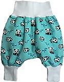 simply-sweet-baby Babyhose Pumphose XXX Jedes Teil 6,99 Euro Restposten (50/62, Panda weisses Bündchen)