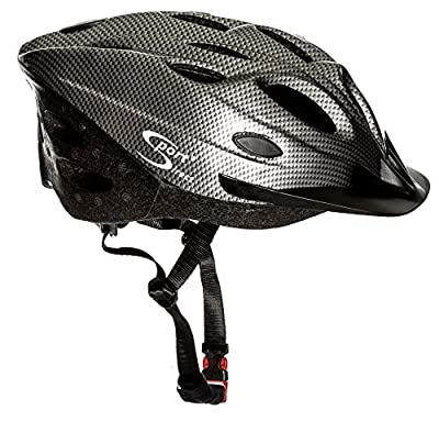 Sport Direct 18 Vent Mens Bicycle Helmet Graphite 58-61cm from Sport Direct