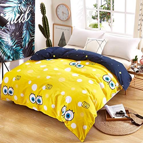 JWANS Cartoon Bettbezug Kinder Baumwolle Bettwäsche Set Gedruckt Muster Polyester Bettdecke Twin Voll Königin König Doppel Einzelgröße Bettdecke