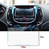 Cobear 6,5 Zoll HD Auto Navigation Schutzfolie Transparent Gehärtetes Glas Schutz passt für LCD GPS Navi Touch-Display 143×76mm