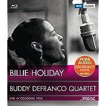 Billie Holiday & Buddy Defranco Quartet-Live in