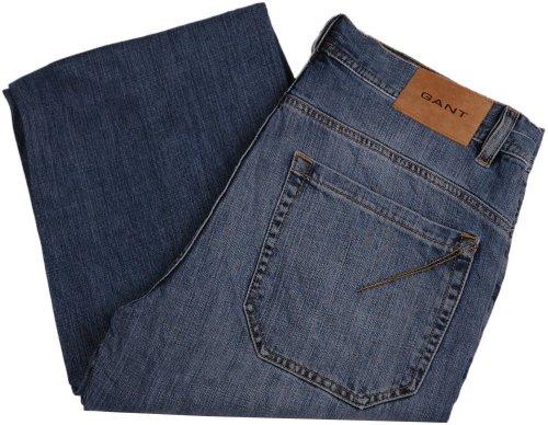 Gant Jeans da uomo pantaloni RORY, colore: blu, upe: 149.90Euro, nuovo Blau 48 IT (34W/32L)