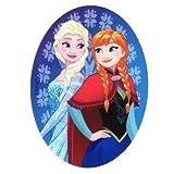 M & C Patch zum Aufbügeln, Motiv Die Eiskönigin - Elsa und Anna Porträt - 8 x 11 cm