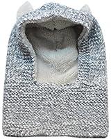 JTC Bonnet Bébé Chapeau D'hiver ou Automne Cagoule Calotte Enfant Crochet
