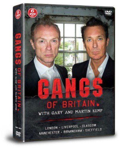 Gangs Of Britain With Gary And Martin Kemp [DVD] [UK Import]
