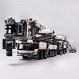 TMIL Liebherr Gru Gigante di Camion Building Blocks Modello Set con RC Motore per Adulto, Fai da Te Assemblati Costruzione dei Giocattoli del Blocchetto