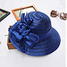 Sucastle Inglaterra, cristales, toga y birrete, Presidente, sombreros, verano, Gaza, visera, (56-58cm) QNMD